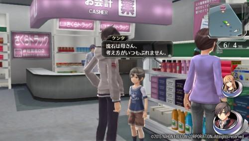 母子でお買い物、ケンタ君は立派な参謀役でもあり……